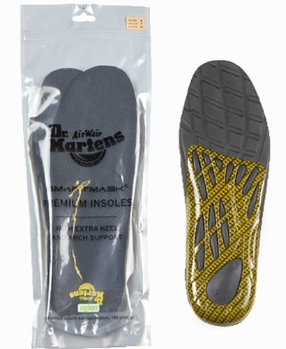 Dr. Martens Men's Premium Insoles,Gray,10 M UK / 11 D(M) US by Dr. Martens