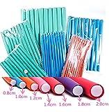 """2 Pack Deal Spiral Hair Foam Curler Roller Set, Pack of 10, Twist Curls Flex Rods, Length 9"""" offers"""
