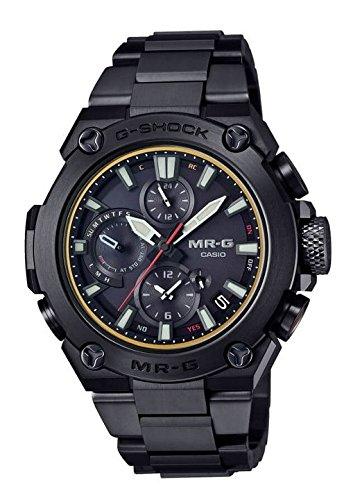 G-Shock MR-G  Atomic Solar Titanium Black Watch - Casio MRGB1000B-1A