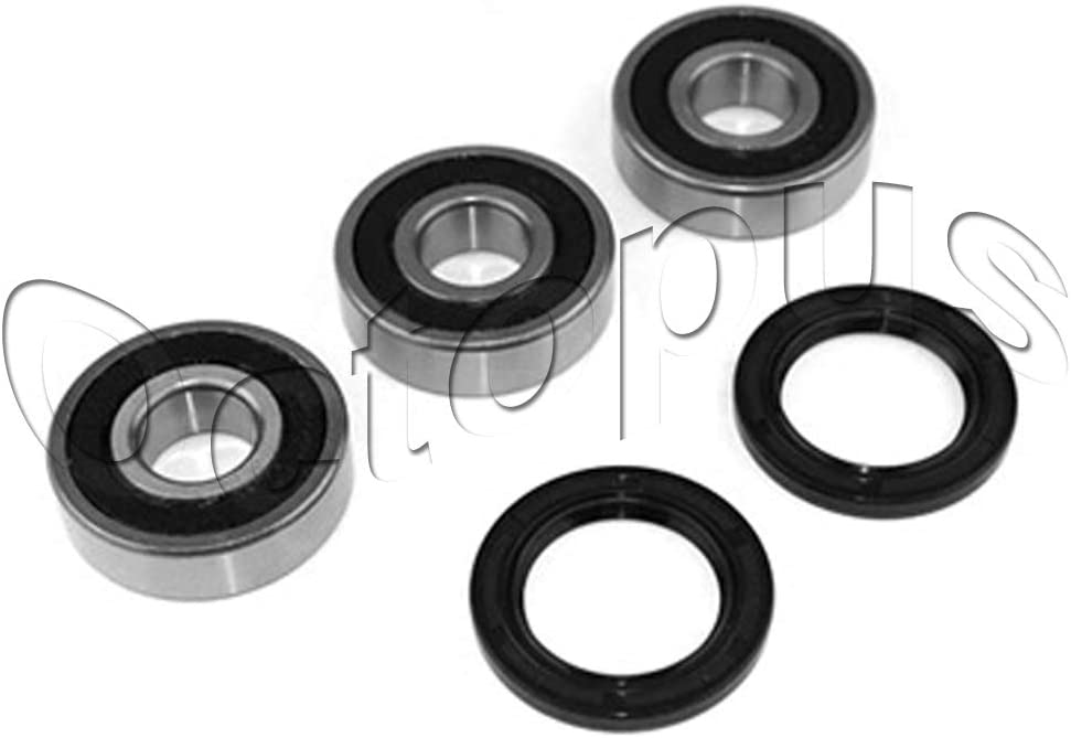 Compatible for Honda TRX250TM FourTrax Recon ATV Bearing kit for Rear Wheel 2002-2009