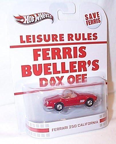 Hotwheels Leisure Rules Ferris Bueller S Day Off Red Ferrari 250 California Car 1 64 Scale Model By Hot Wheels Amazon De Spielzeug