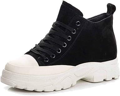 Zapatillas De Deporte De Moda Zapatillas Sin Cordones Zapatillas De Running Zapatos Para Caminar Para Mujer Cómodos Mocasines Con Plataforma Zapatos De Cuña Transpirables: Amazon.es: Ropa y accesorios