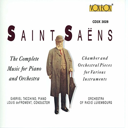 - Piano Concerto No. 2 in G Minor, Op. 22, R. 190: I. Andante sostenuto
