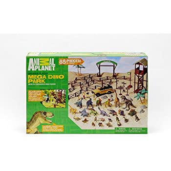 Amazon Com Animal Planet Mega Dino Park Playset Toys Amp Games