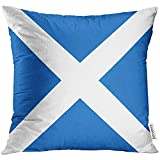 Throw Pillow Cover Scottish Flag of Scot