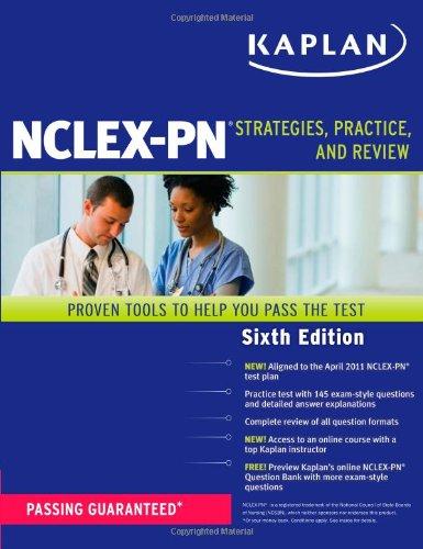 Kaplan NCLEX-PN: Strategies, Practice, and Review (Kaplan NCLEX-PN Exam)