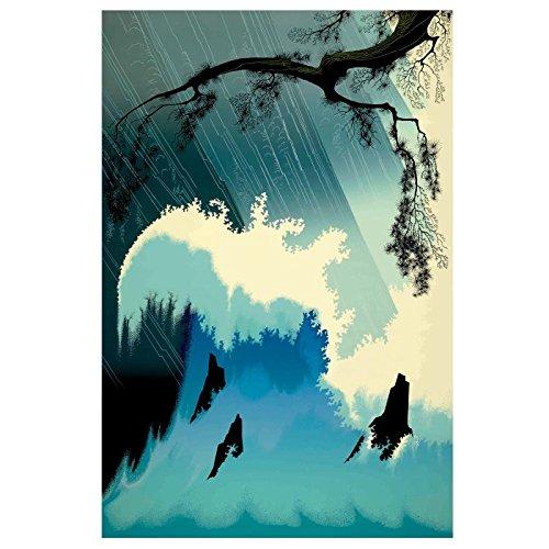 Ocean Splash, Eyvind Earle Limited Edition