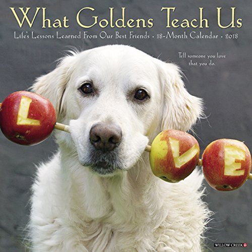 What Goldens Teach Us 2018 Calendar: Life's Lessons Learned from Our Best Friends