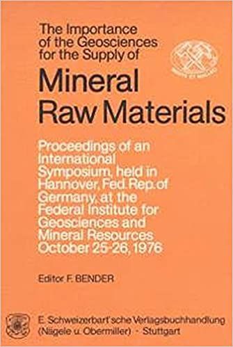 The Importance of the geosciences for the supply of mineral raw