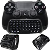 Whiteoak PS4 Keyboard, Wireless Mini Chatpad, Great KeyPad Adapter for PlayStation 4 PS4, Slim, Pro Controller …