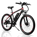 DSBL 26 inch Electric Mountain Bicycle Shimano 7 Speed EBike 36V 10.4Ah Samsung Lithium Battery 350W Electric Bike 26