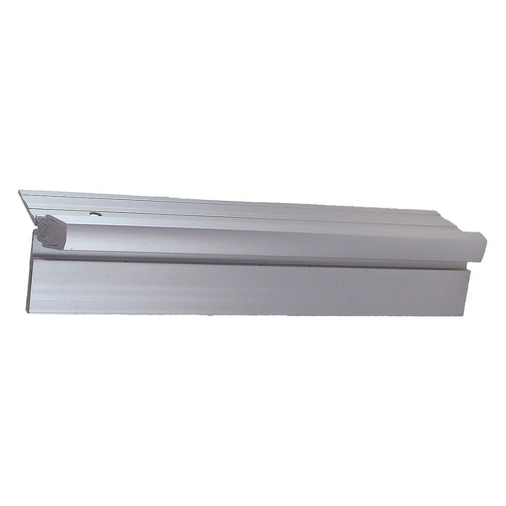 Pemko - CHS95HD1-HT-LH - 108 Continuous Hinge With Holes, Milled Aluminum Finish, 95 x 1-7/8