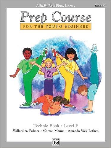 Basic Piano Prep Course: Technic Book F: 0038081052816