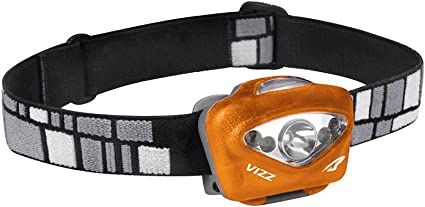 Orange Princeton Tec Vizz Headlamp