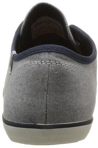 Pepe Jeans Britt - Zapatillas de Deporte de tela hombre azul - Bleu (533)