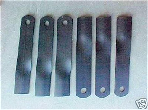 WOODS RM990 FINISH MOWER BLADE SET OEM WOODS CCW ROTATION PART 24590KT