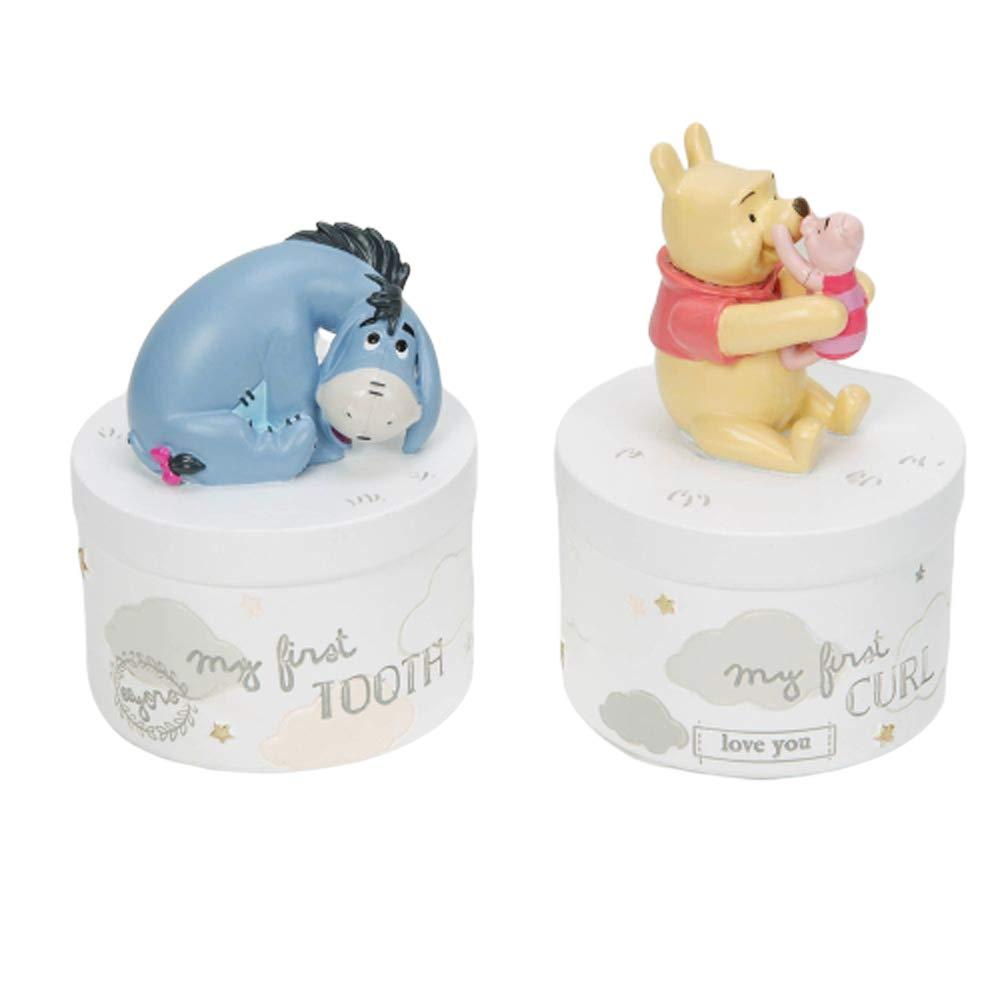 Disney Winnie Pooh Lockendose und Zahndose im Set Geschenkset Disney