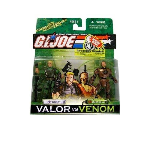 G.I. Joe: Valor vs. Venom Series 7 Duke vs. Overkill Action Figure 2-Pack