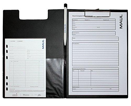 Maul 2339290 A4 schwarz Notizblock – Notizbücher (schwarz, A4, 1 1 1 Hüllen, 23 mm, 32 mm, 13 mm) B004WO4Y48 | Moderner Modus  873c49