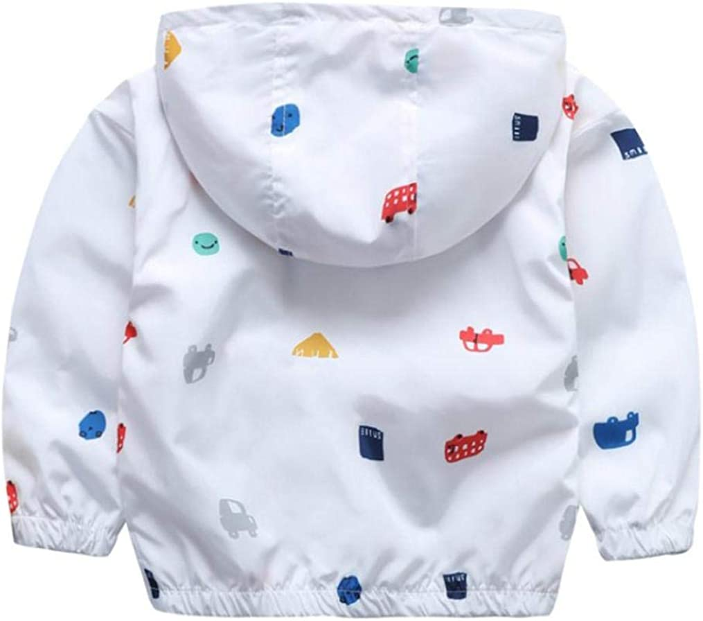 squarex Baby Clothes Jacket Kids Cute Car Baby Outerwear Boys Girls Coat