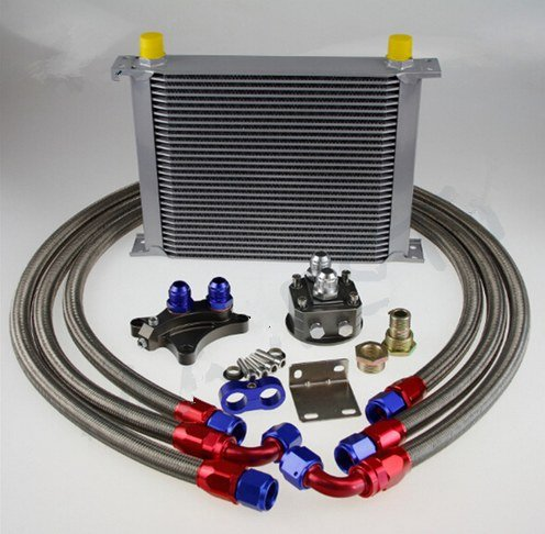 GOWE OIL COOLER KIT FOR Silvia S13 S14 S15 180SX 200SX 240SX SR20DET 30 ROW OIL COOLER