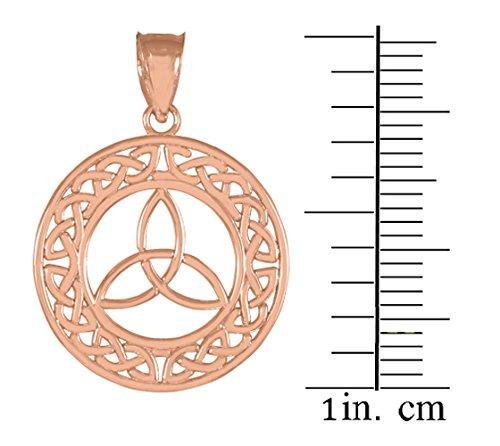 10 ct 471/1000 Roet Or Rose Celtique- Pendentif