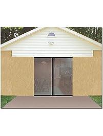 7x8 garage doorGarage Doors  Amazoncom