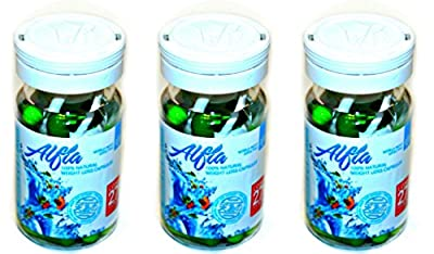 Alfia 100% Natural Weight Loss Capsules 30ct PACK OF 3