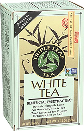 (Triple Leaf Tea, White Peony, 20 Tea Bags (Pack of 6))