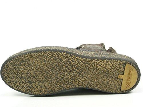 De Pour Ville Lacets 15 À Softwaves Braun Femme Chaussures 7 01 pwIqH