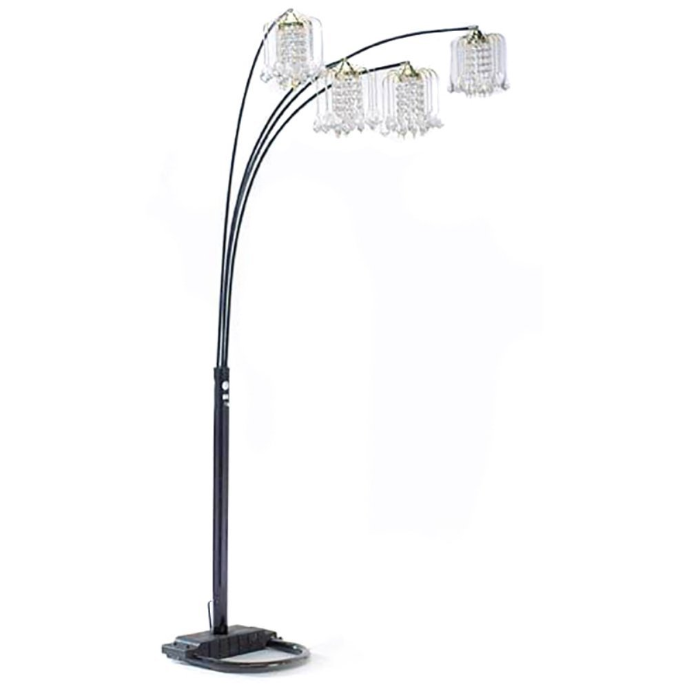 Amazon.com: Milton Greens Stars A6966G Silvia Adjustable Arc Floor Lamp  With Dimmer Switch, 90 Inch, Polished Brass: Home U0026 Kitchen