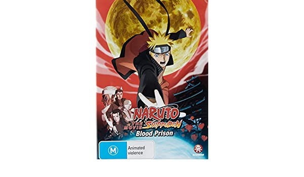 Naruto Shippuden: The Movie 5 - Blood Prison Limited Edition ...