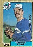 2017 Topps Baseball Rediscover Silver 1987 #768 Dennis Lamp Toronto Blue Jays