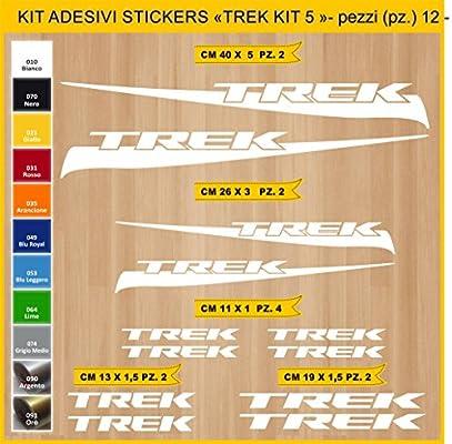 Kit Pegatinas Stickers Bicicleta Trek -Kit 5-12 Piezas- Bike Cycle ...