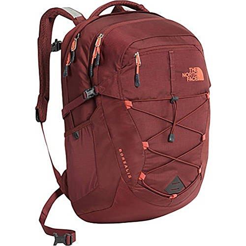 Di Barolo - The North Face Women's Borealis Backpack - Barolo Red/Nasturtium Orange - One Size (Past Season)