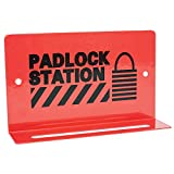 TruForce Heavy-Duty Padlock Station, 5 Lock, 3 1/4'' x 5 1/2''
