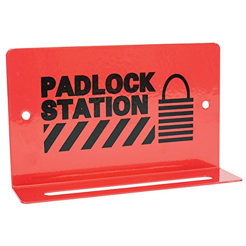 TruForce Heavy-Duty Padlock Station, 5 Lock, 3 1/4'' x 5 1/2'' (18 Pack)