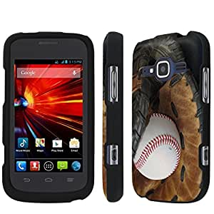 [NakedShield] T-Mobile Concord II 2 / ZTE Condord II 2 (Ball and Glove) Total Armor Snap-On Phone Case