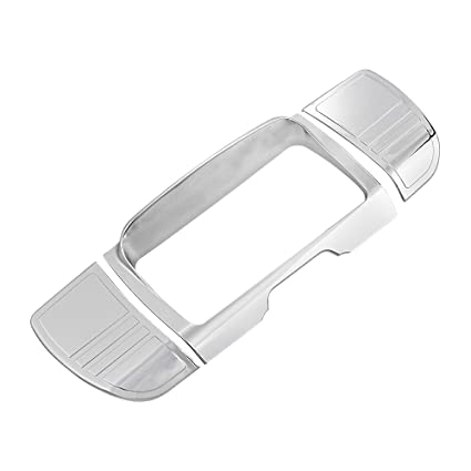 Chrome Tri Line Stereo Accent Trim Cover for Harley Touring 2014-2016