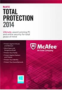 McAfee Total Protection 1PC 2014 (Free Upgrade 2015/2016)