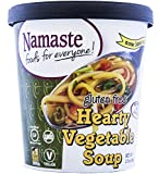 Namaste Foods Gluten Free Hearty Vegetable Soup, 44g (Pack of 12)