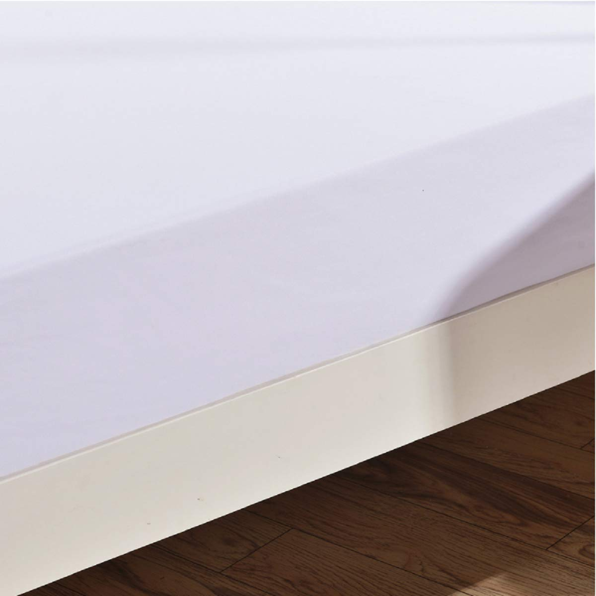 Black Sue/&Joe King Sheets Microfiber Deep Brushed Hypoallergenic Wrinkle Fade Resistant Fitted Sheet Only