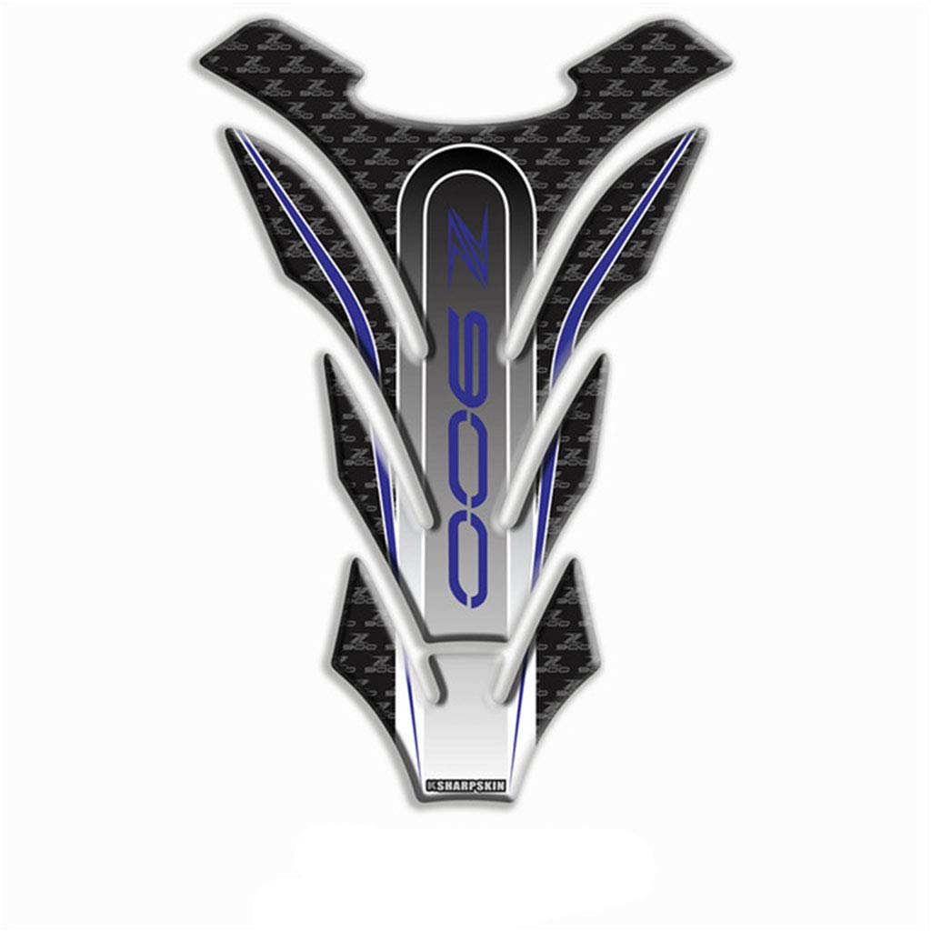 Adesivo per serbatoio serbatoio moto 3D per Kawasaki Versys Verde