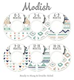Modish Labels Baby Nursery Closet Dividers, Closet Organizers, Nursery Decor, Gender Neutral, Baby Boy, Baby Girl, Woodland, Arrow, Tribal, Aztec, Navajo, Mint, Navy Blue, Tan, Taupe, Beige