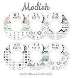 Modish Labels Baby Nursery Closet Dividers, Closet Organizers, Nursery Decor, Gender Neutral, Baby Boy, Baby Girl, Woodland, Arrow, Tribal, Aztec, Navajo, Mint, Navy Blue, Tan, Taupe, Beige