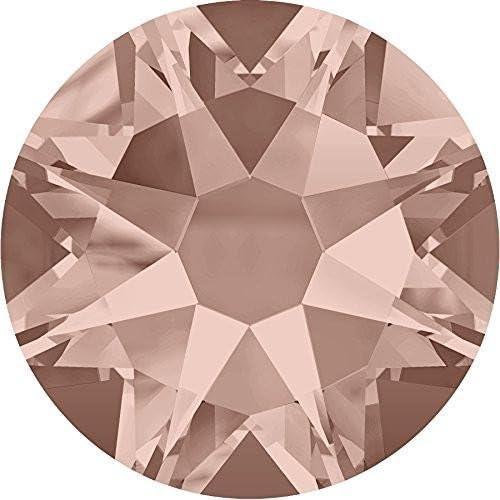 319 Swarovski 2058//2088 Cristal flatback no-hotfix Rhinestone 144 Vintage Rose