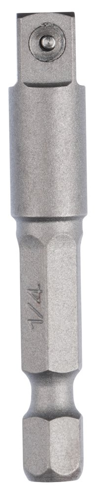"Bosch 2608551107 Adapter-1/4 hex to 1/2"" Square, Silver, 1/4-Inch"