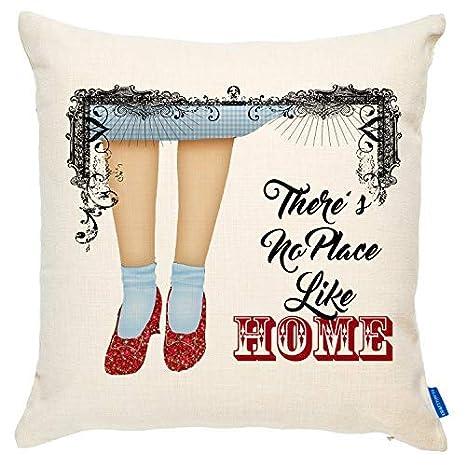 Amazon.com: Cubierta de cojín Dorothy para Navidad, diseño ...