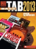 Bass Tab 2013, Hal Leonard Corp., 148035354X