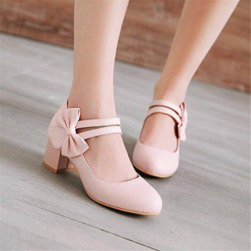 des Décontracté la la nature roses avec à chaussures Été Dans lumière grand Femme fentes de nombre du simples Sandales Mode 8OF5qw